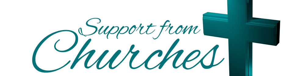 Support from Churches