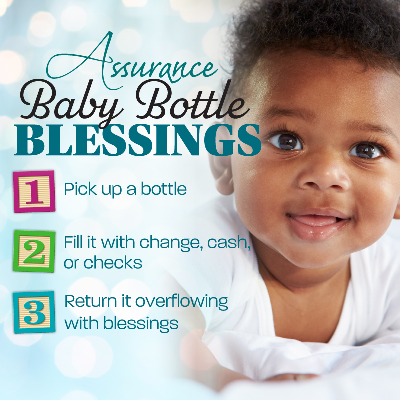 Baby Bottle Blessings - Assurance For Life