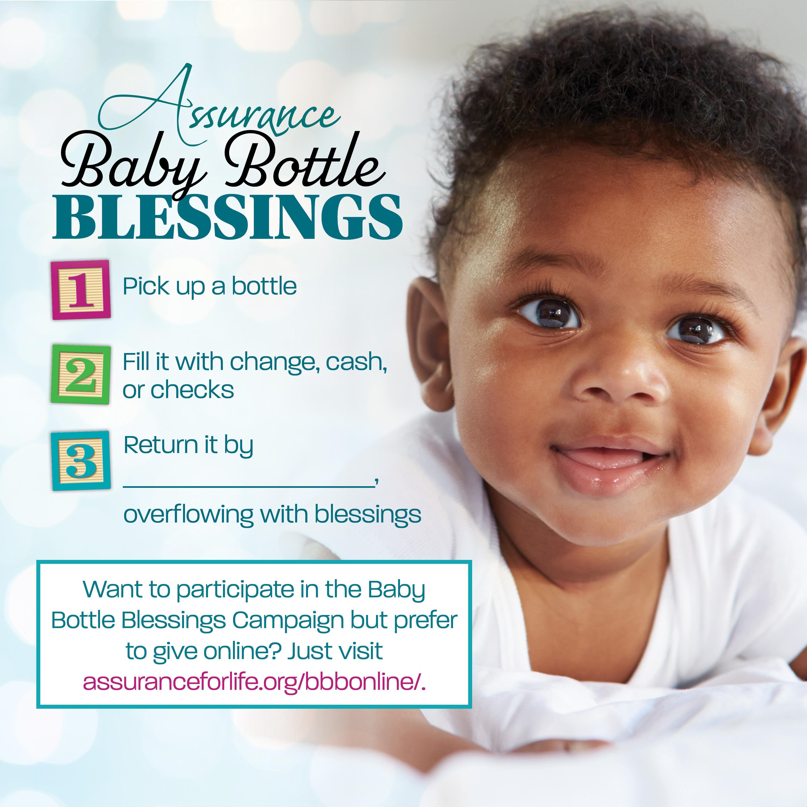 Baby Bottle Blessings - Assurance For Life