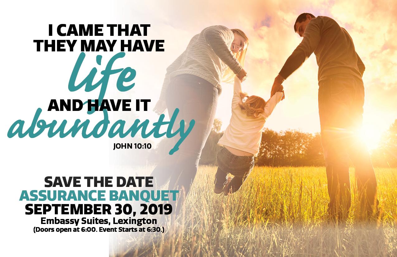 2019 Banquet set! - Assurance For Life